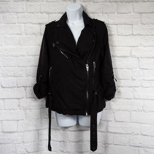 BLANK NYC Utility Jacket w/ Roll Sleeves SZ XS